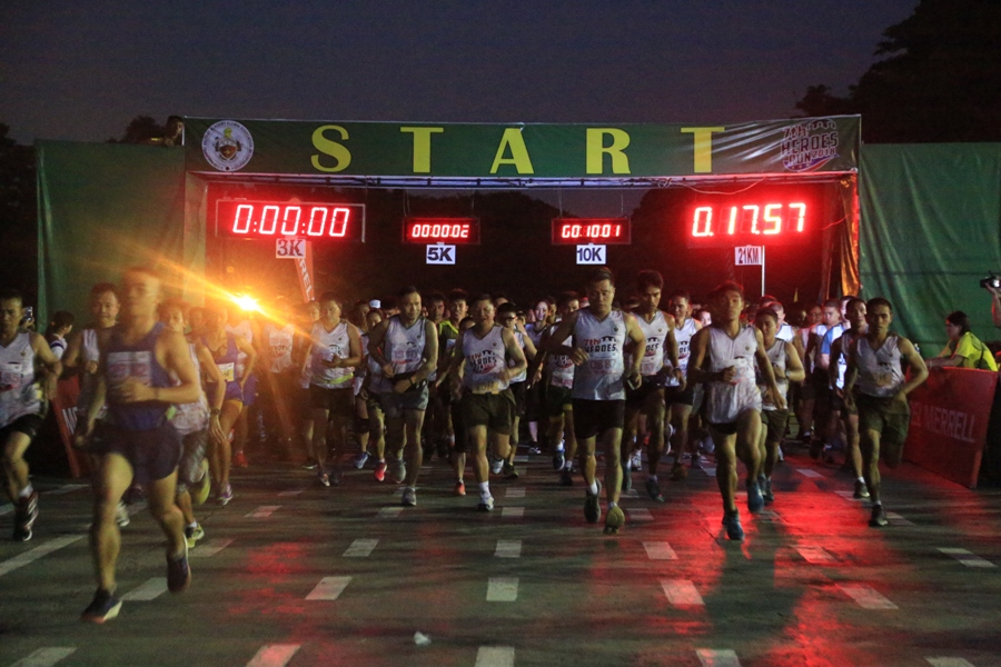 Army participates 7th Heroes Run