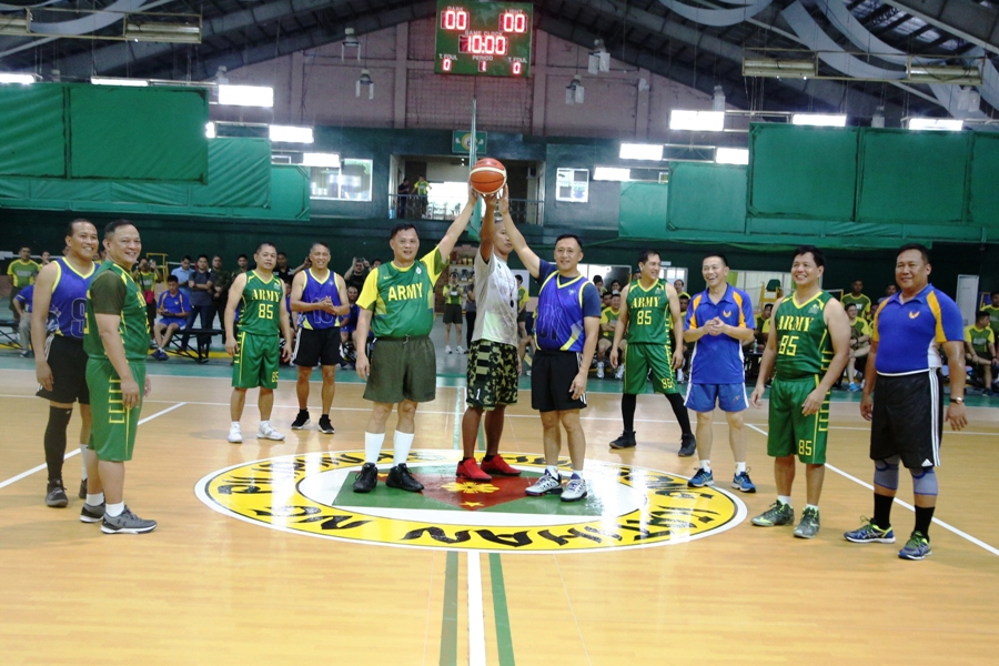 Army meets the Air Force in a friendly game match