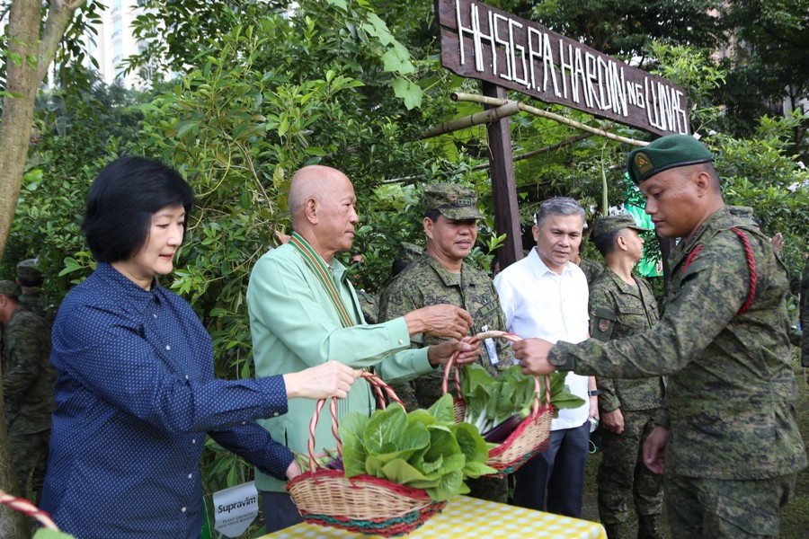 DND Chief leads the Hardin ng Lunas Harvest Festival in Fort Bonifacio