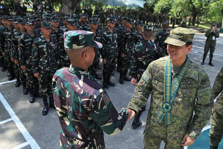 Army Artillery Regiment welcomes new soldiers