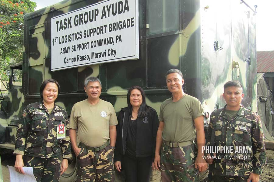 Philippine Army model civilian employees 2018