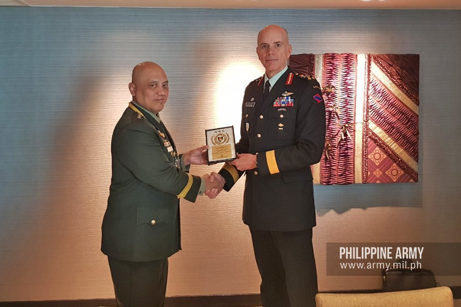CGPA meets Canadian Army Chief, invites future trainings
