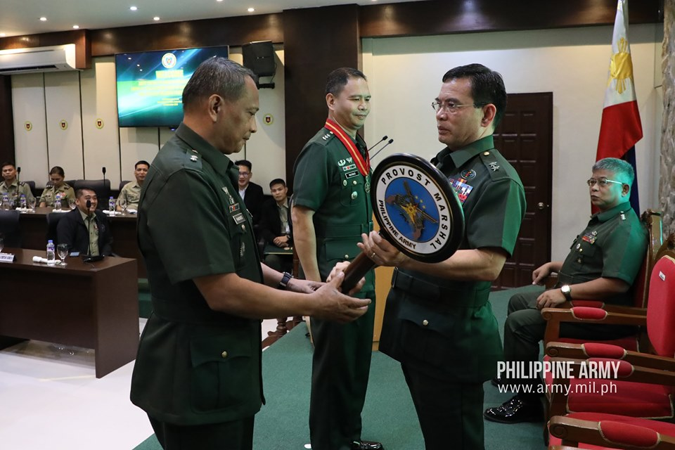 Army installs new chiefs of office